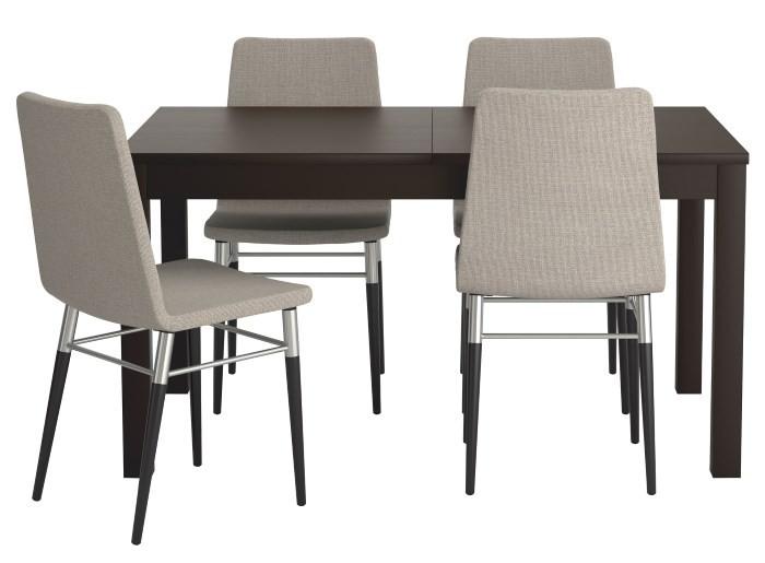 Обеденные стулья и стол ИКЕА