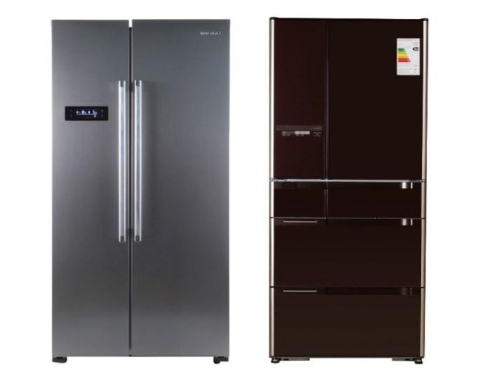 Широкие холодильники