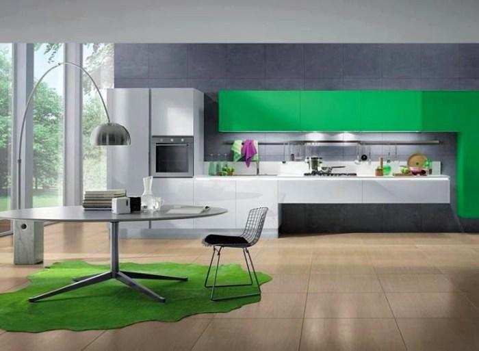 Стол модерн на кухне