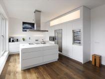 Галерея кухонь в стиле минимализм, часть 2