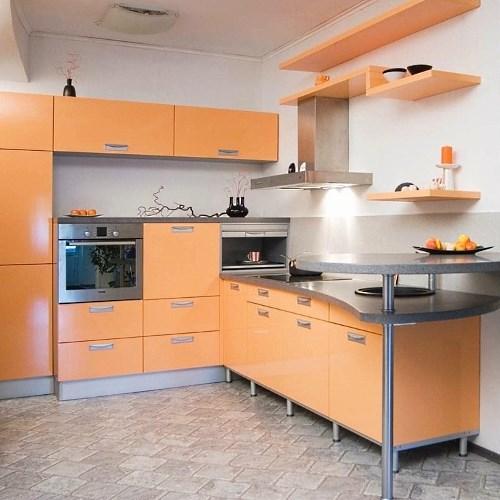 Персиковые кухни