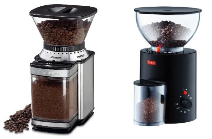Жерновые кофемолки Cuisinart и Bodum