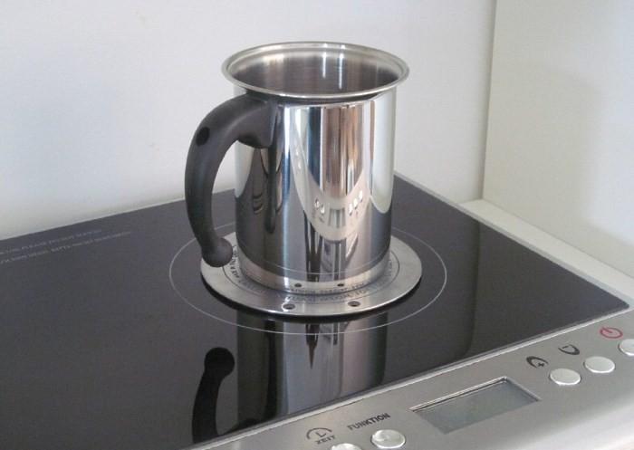 Индукционный адаптер для посуды без ферромагнитного дна