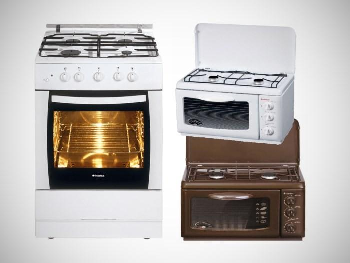 Газовые плиты с духовкой