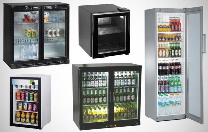 Холодильники для бара