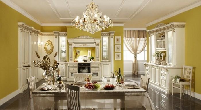 Кухня в дворцовом стиле