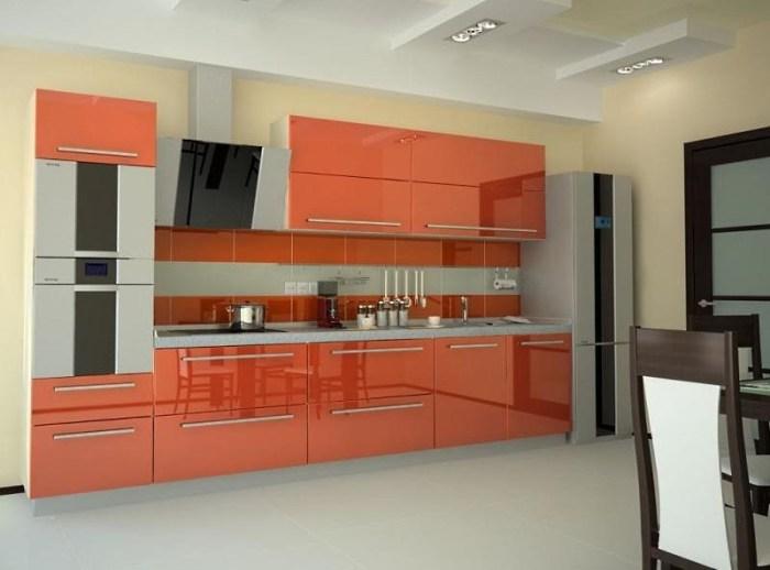 кухня из пластика hpl
