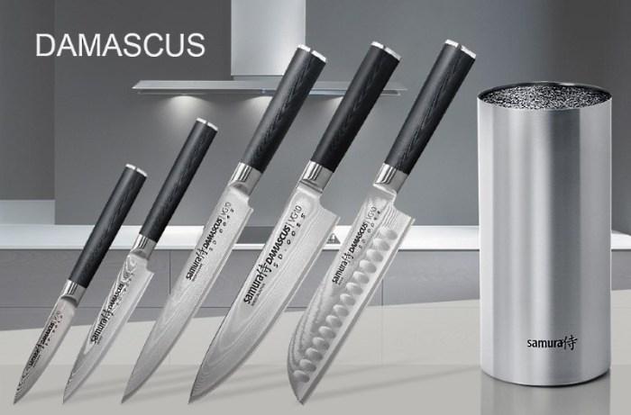 набор японских ножей