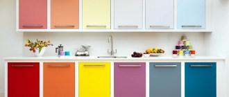 Как грамотно подобрать цвет кухонных фасадов
