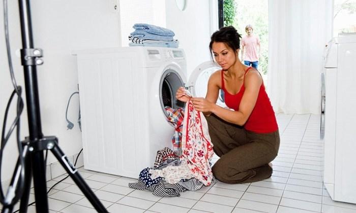 Как отстирать кухонные полотенца в машинке