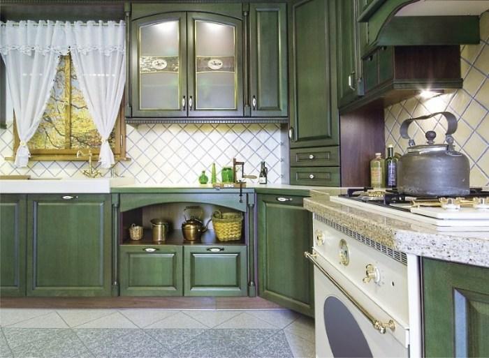 Мебель для кухни в стиле прованс