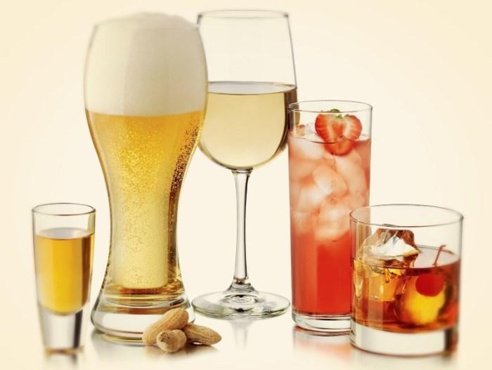 Разнообразие барного стекла