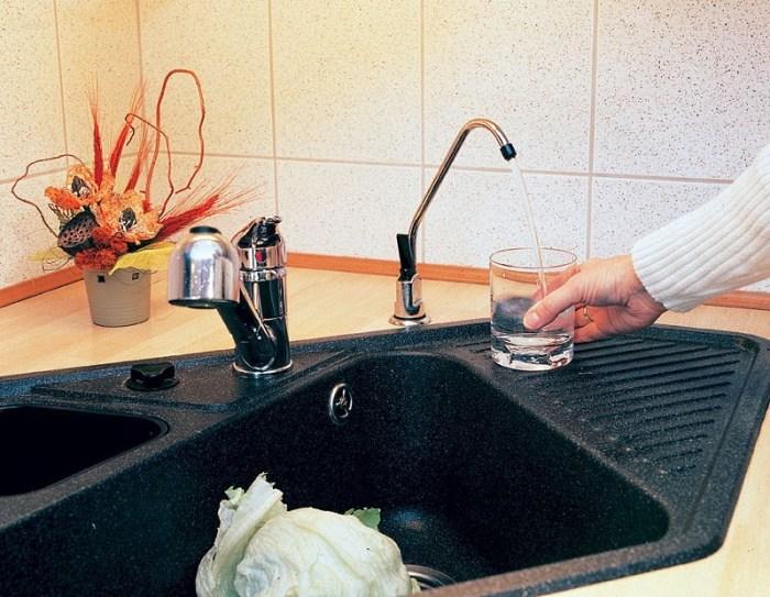 Отдельный кран для питьевой воды