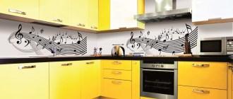 Потрясающая кухня желтого цвета: солнечное настроение в интерьере