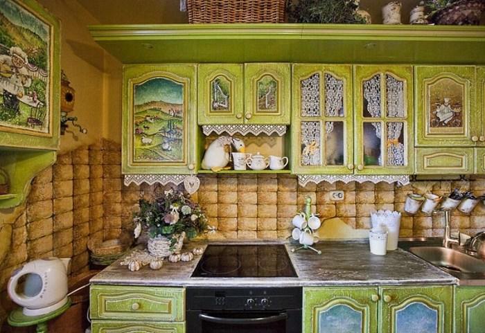 dekupazh-shkafov Декупаж старого шкафа своими руками фото: кухонный мастер-класс, как сделать оформление двери шкафчика