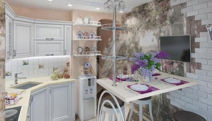 фото 10 метровой кухни