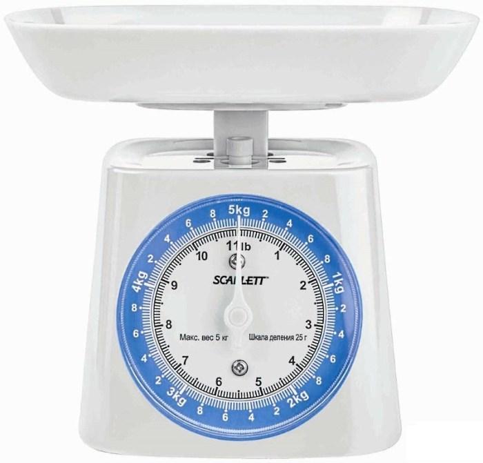 механические весы scarlett sc 1219