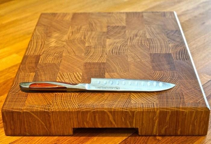 торцевая деревянная разделочная доска