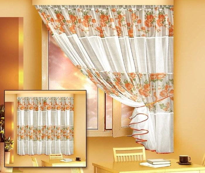Белорусские кухонные шторы