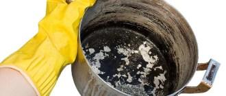 Надежные способы борьбы с нагаром на посуде: химические средства и народные рецепты