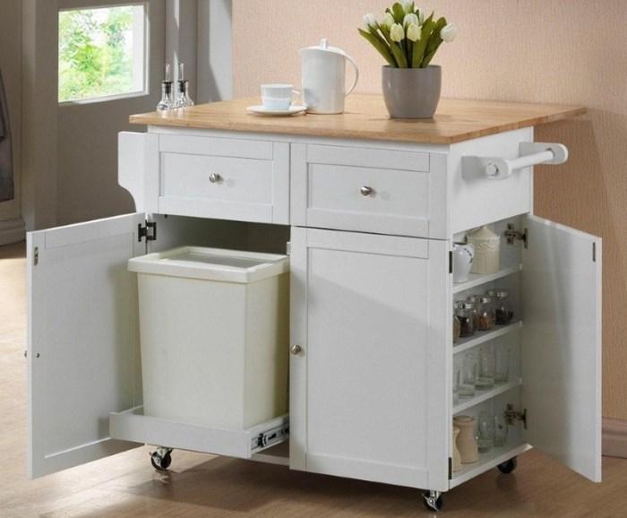 Функциональный кухонный комод