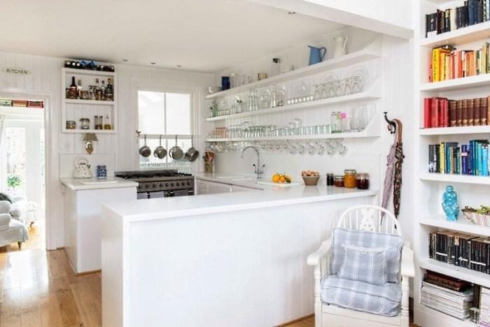 Планировка кухни 18 м