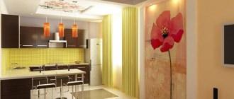 Виды отделки для кухонных стен – а выбор-то впечатляет!