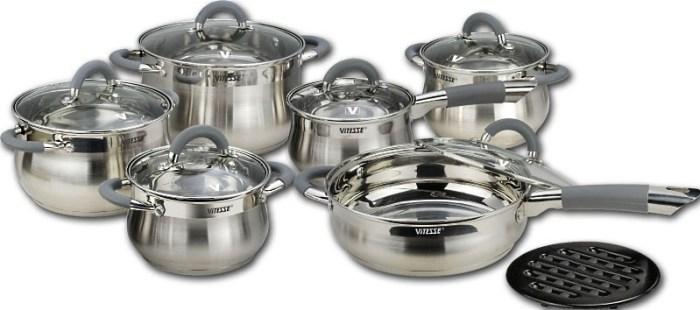 стальная посуда Vitesse