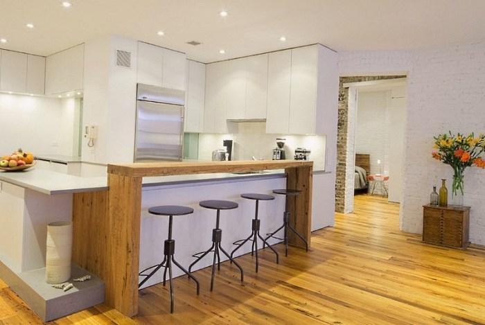барная стойка для кухни фото бара в квартире