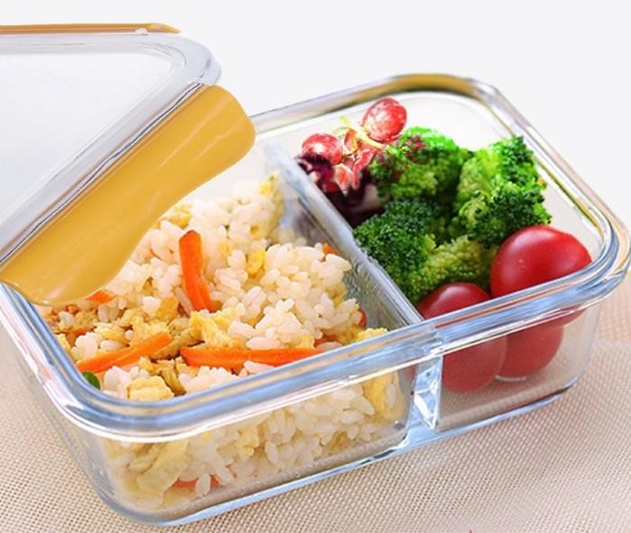 стеклянный контейнер для еды