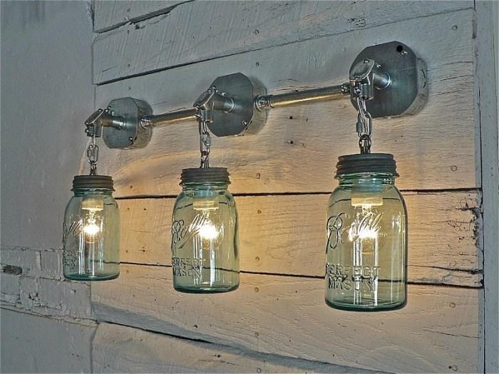 Настенные светильники своими руками