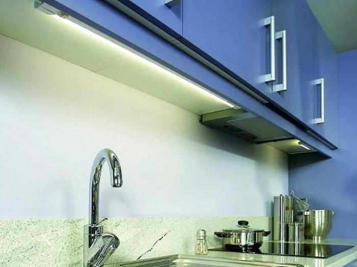 Люминесцентные лампы в освещении кухни