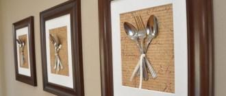 Рамочки на стену на кухне