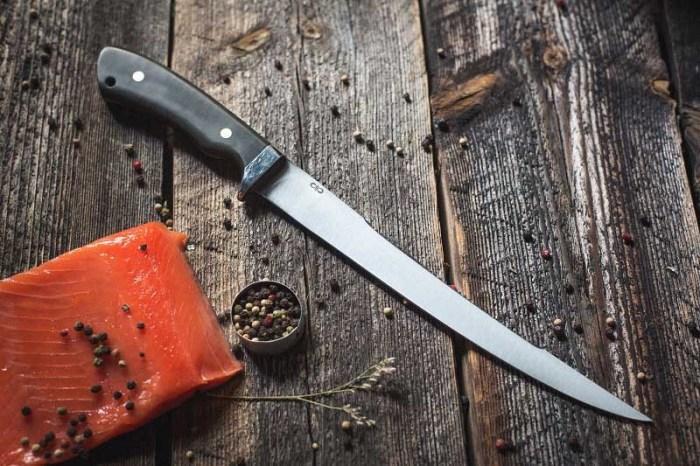 Филейный нож для рыбы