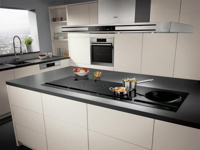 Индукционная плита с местом под сковороду-вок