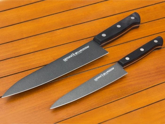 Керамотитановые ножи