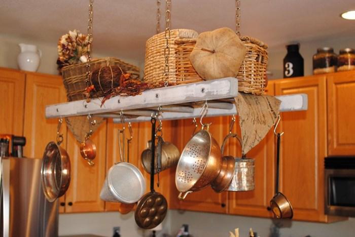 Подвесная система на кухне
