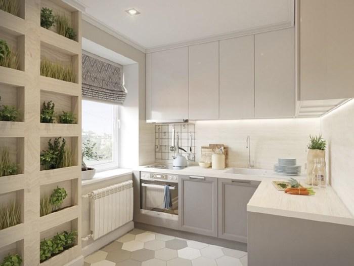Стена из растений в виде деревянного шкафа с полками