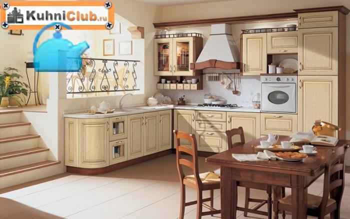 Кухня-из-беленого-дуба-классический-стиль