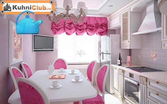 Розовый-цвет-на-кухне