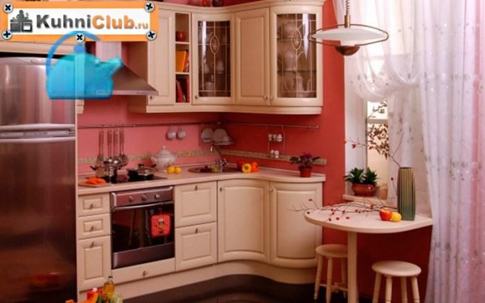 Темные-тона-пола-розовой-кухни