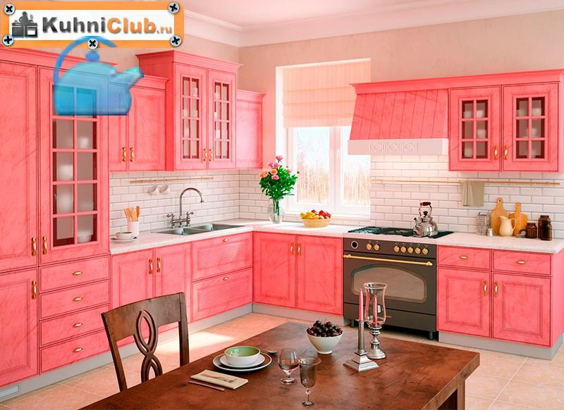 Розовая кухня: дизайн и оформление