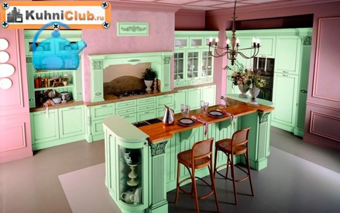 Розовый-цвет-в-кухне