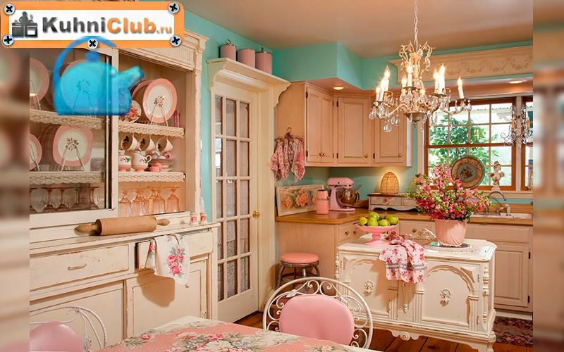 Кухня-в-стиле-шебби-шик-3