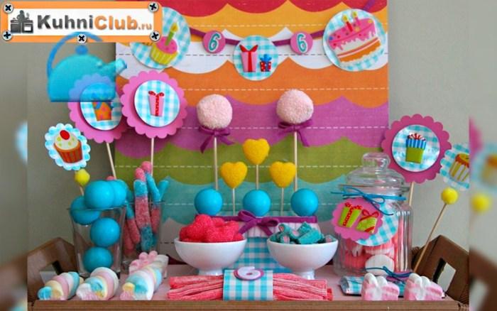 Декор-чайного-стола-на-детском-празднике