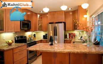 Люстры-бра-и-точечные-светильники-на-кухне