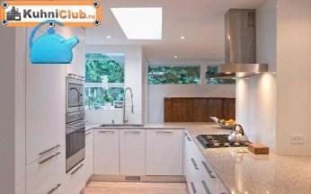Светодиодная-панель-на-кухне-с-низким-потолком