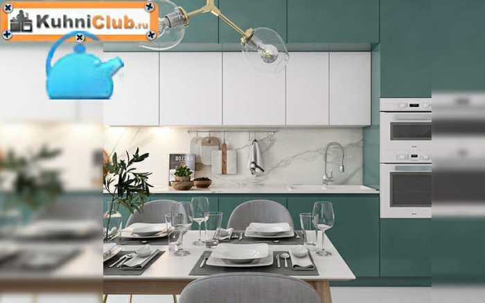 Кухонный-гарнитур-без-ручек-тренд-2020-года