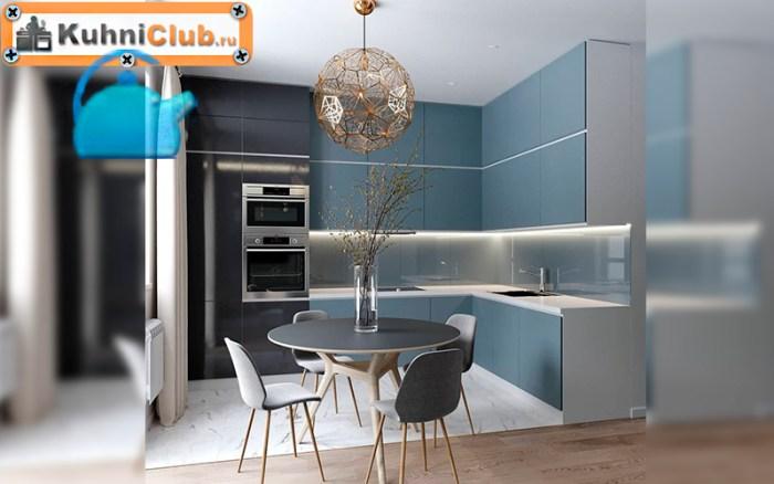 Люстра-из-металлических-пластин-в-модной-кухне-2021