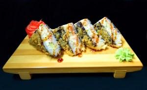 Суши сэндвич с лососем